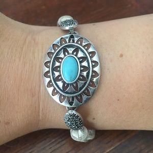 Lucky brand leather bracelet